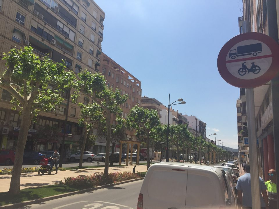 Los ciclomotores podrán volver a circular por Los Andenes 6