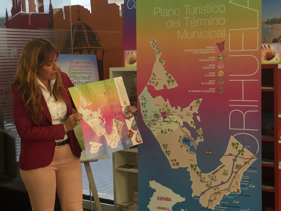 Turismo integra en un mapa todo el término municipal de Orihuela 6