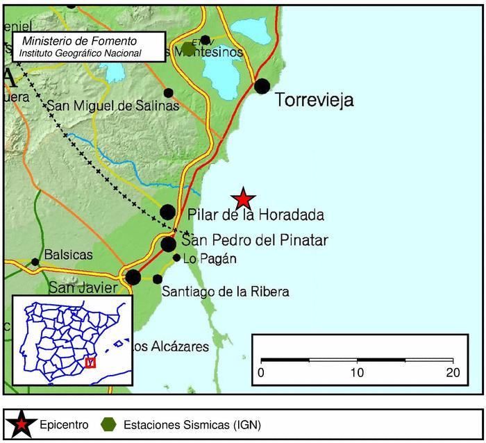 Un terremoto de magnitud 3,4 hace temblar la Comarca 6