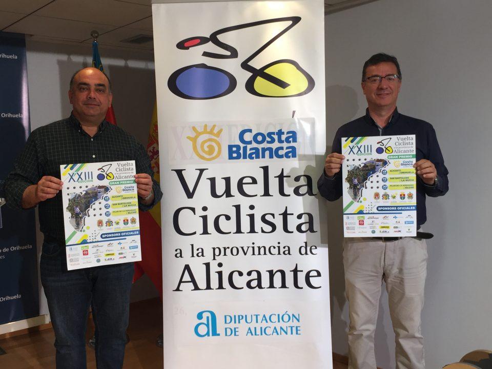Orihuela recibe la Vuelta Ciclista a la provincia de Alicante este viernes 6