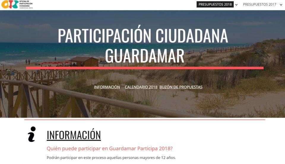 Guardamar abre el plazo de propuestas para los Presupuestos Participativos 2018 6