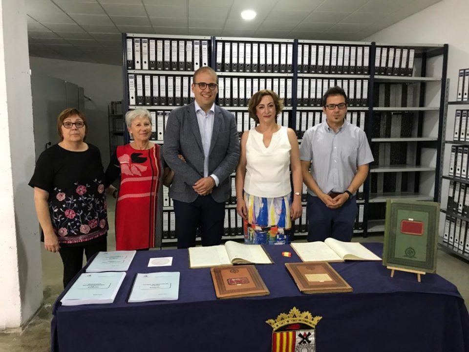 La Diputación de Alicante pone orden en el Archivo de Bigastro 6