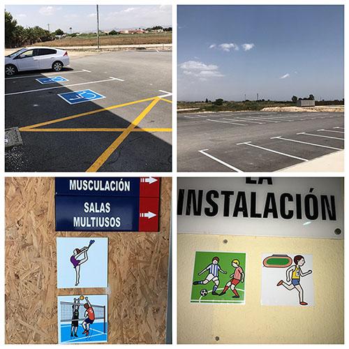 Almoradí incluye pictogramas en instalaciones deportivas 6