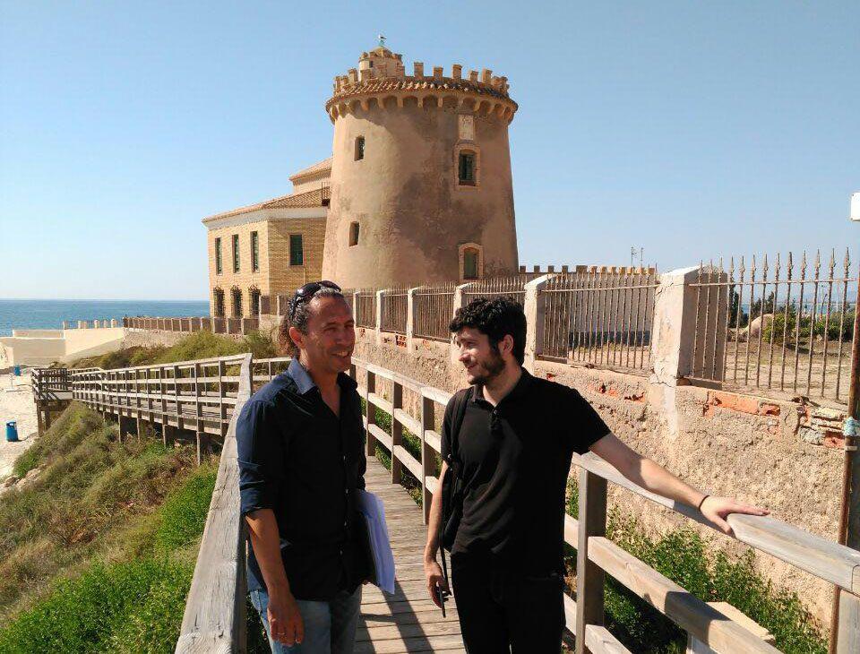 Antonio Estañ se compromete a que la Torre Vigía pilareña pase a ser municipal 6