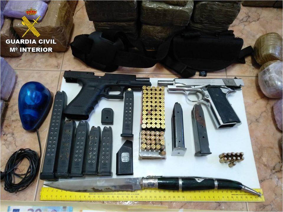 La Guardia Civil detiene en Albatera a un peligroso delincuente 6