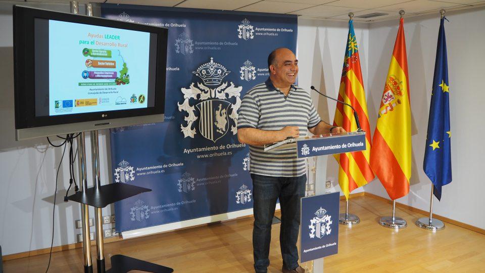 Organizan charlas informativas en pedanías oriolanas sobre subvenciones europeas 6