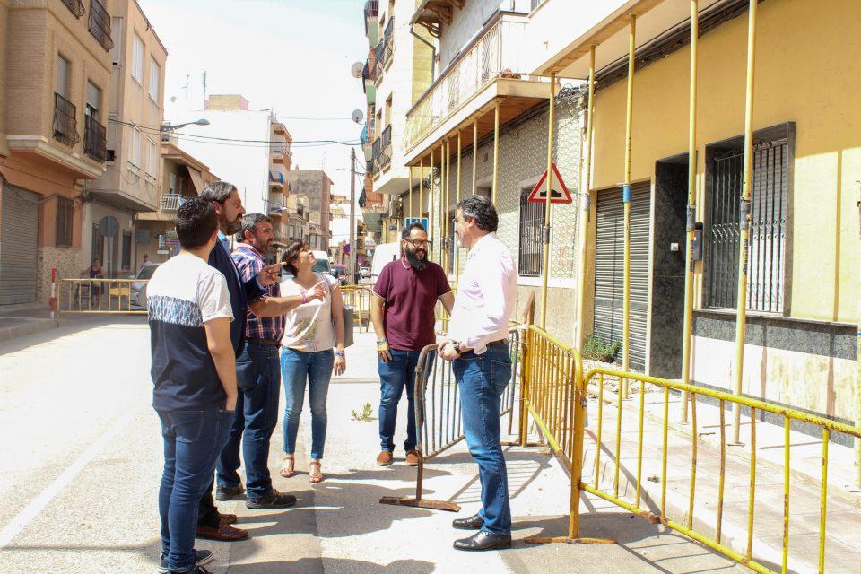 Callosa de Segura solicita una ayuda excepcional para las obras de la Calle Salitre 6