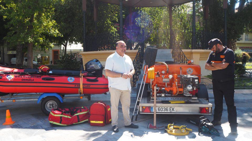 Orihuela inicia el dispositivo preventivo de extinción de incendios y emergencias 6