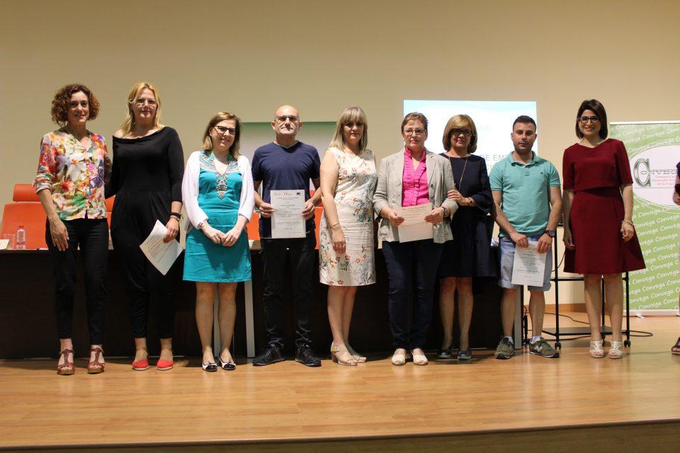 El Servef y Convega entregan sus diplomas a más de 150 alumnos de la comarca 6