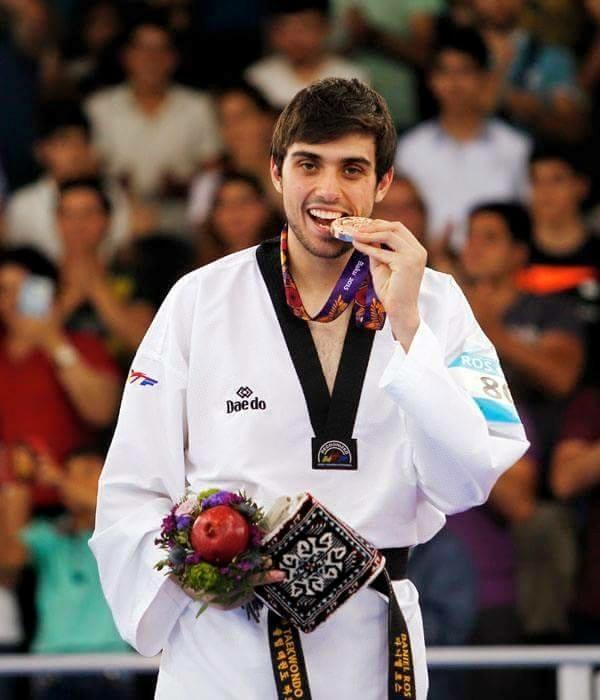Daniel Ros gana el oro en los Juegos Mediterráneos 6