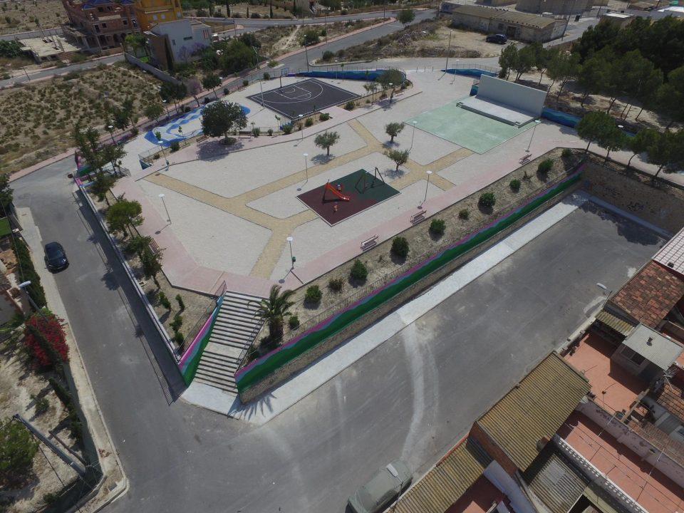 Bigastro renueva y moderniza el Parque Lo Chusco 6