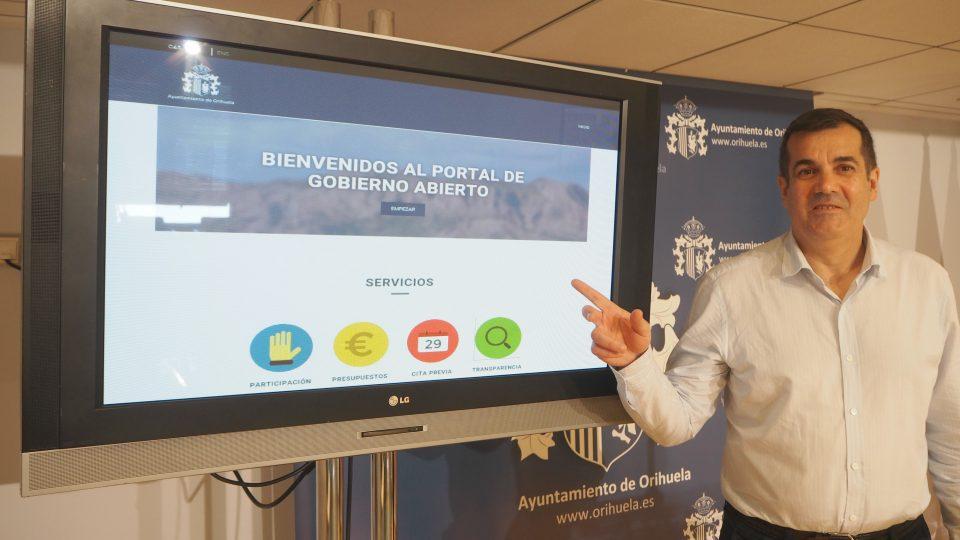 Orihuela pone en marcha una nueva web de Gobierno Abierto 6