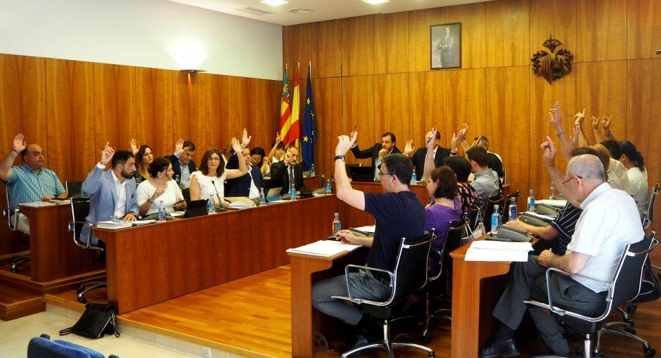 El Pleno ratifica el nombramiento de Mayte Sánchez como Portadora del Oriol 6