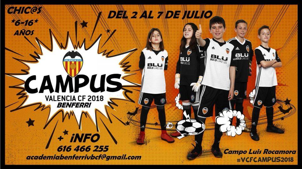 El campus Valencia CF 2018 llega a la Academia Benferri Vega Baja 6