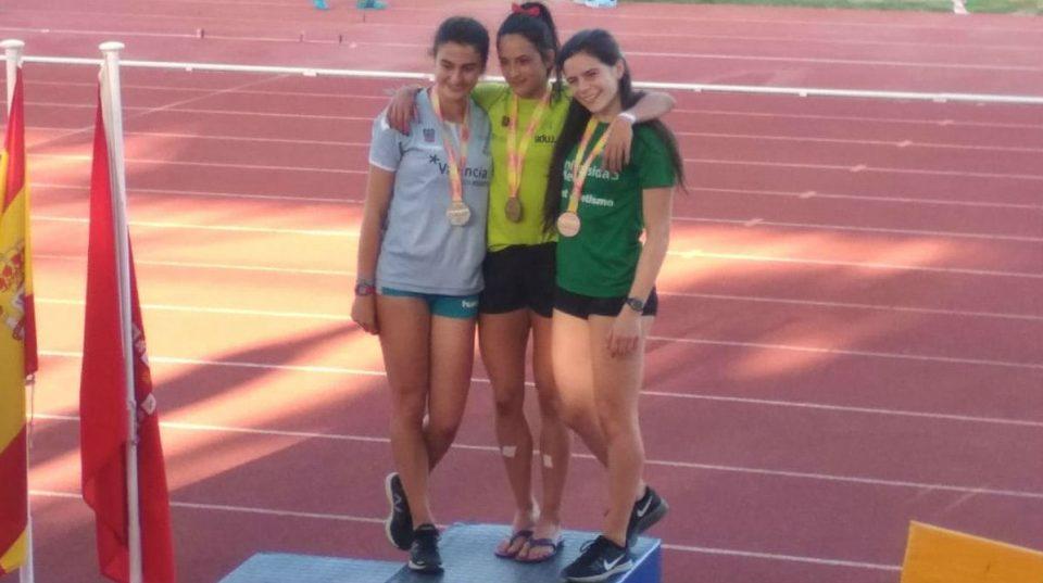 Carmen Marco se cuelga la plata en los 100 metros lisos 6
