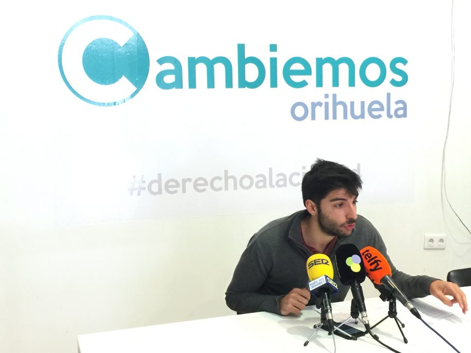 Cambiemos Orihuela apuesta por un plan de reforestación para el municipio 6