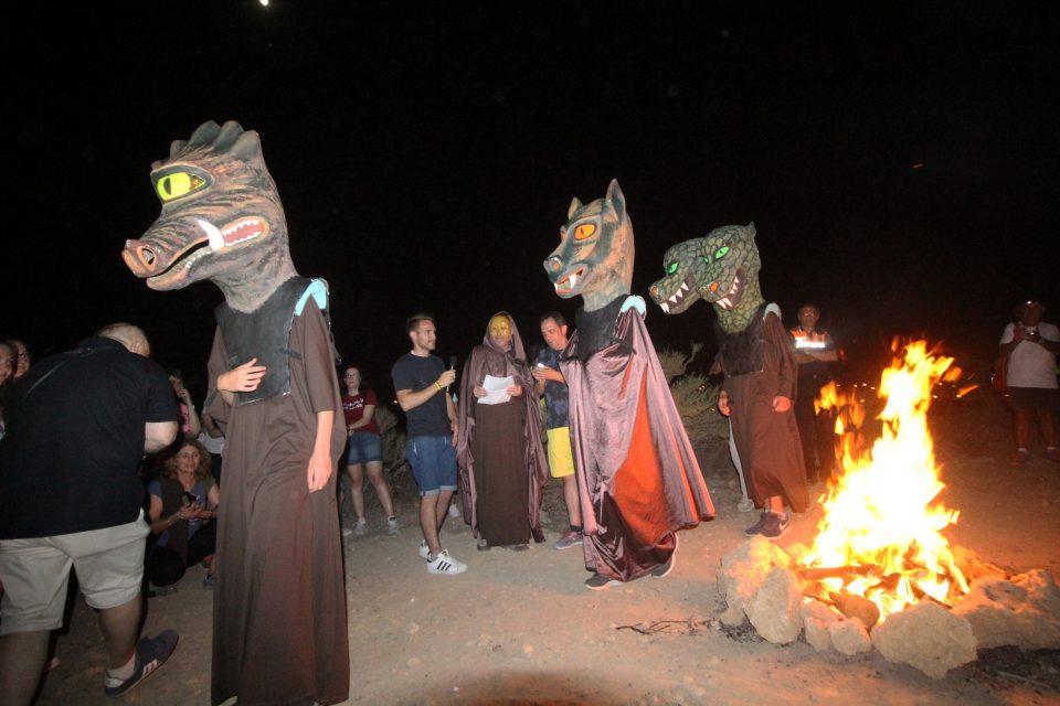 Rojales revivió La Encantá en la víspera de San Juan 6