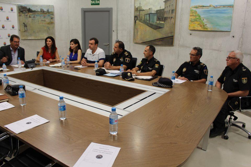 Imagen de Archivo de la última Junta de Seguridad Local