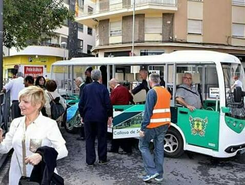 Multan al minibús público de Callosa por circular sin la ITV en regla 6