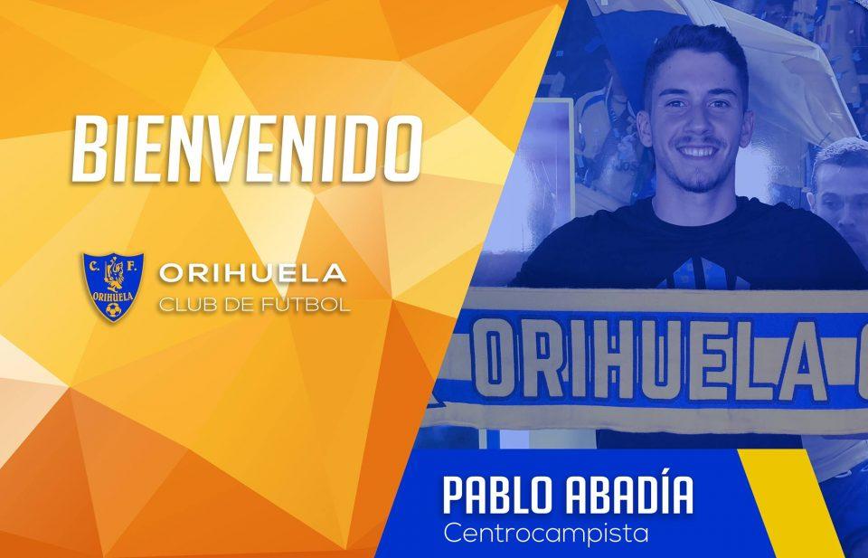 El Orihuela ficha savia nueva con Pablo Abadía 6