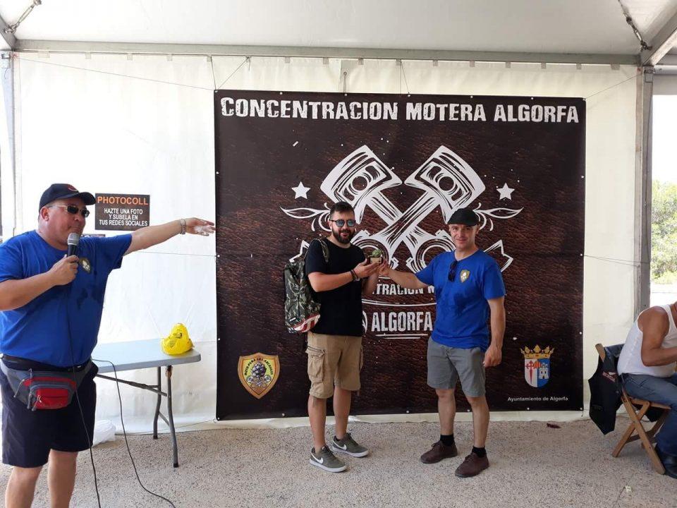 La Motoacampada de Algorfa recoge 200 kilos de comida para Cruz Roja 6