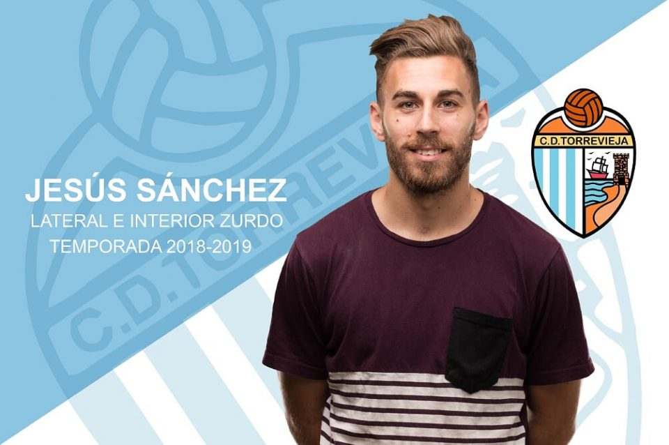 El CD Torrevieja suma al lateral izquierdo Jesús Sánchez 6