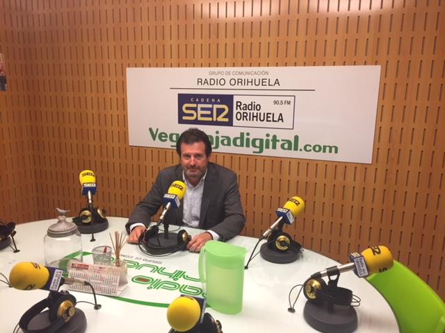 José Císcar exige mayor participación de los regantes alicantinos en la mesa técnica 6
