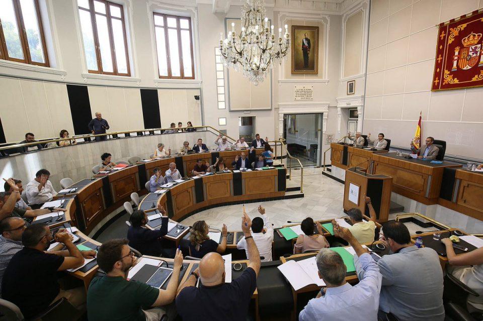 Acuerdo político en la Diputación para el reparto de 15 millones 6