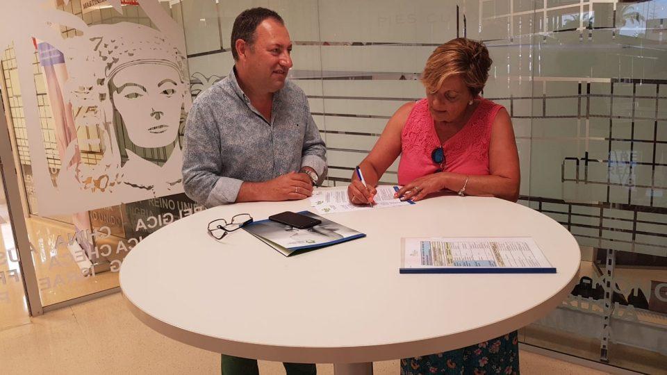 ADIS firma un convenio para el centro de atención temprana 6