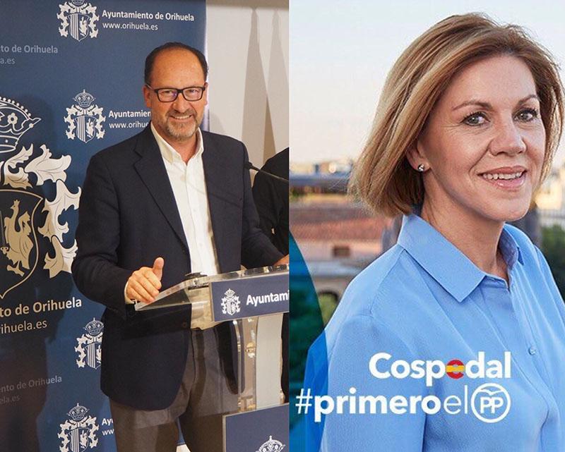 Bascuñana apoya a De Cospedal como presidenta del PP 6