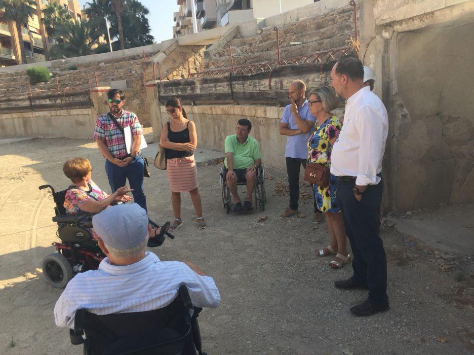 Las obras del proyecto de la Plaza de Toros favorecerán la accesibilidad 6