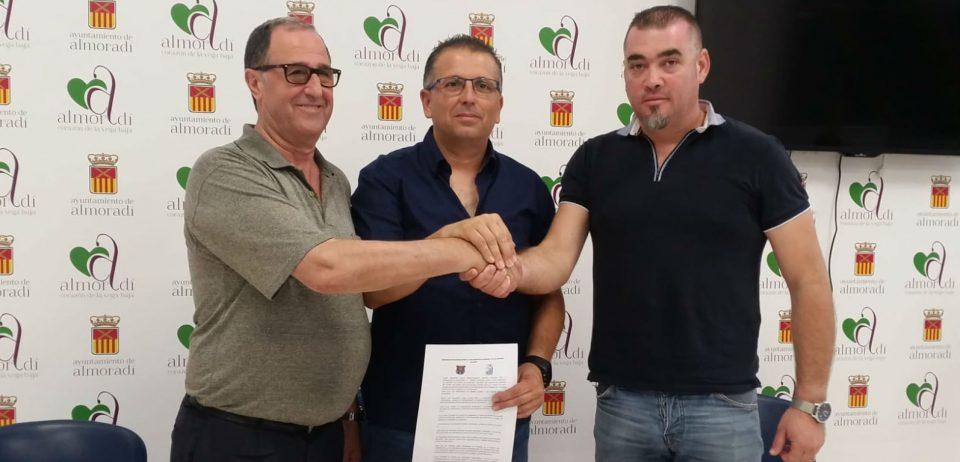 Acuerdo de filialidad entre el CD Almoradí y el Sporting Saladar 6
