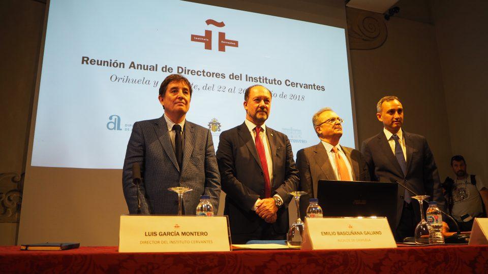 Orihuela acoge la Reunión Anual de Directores del Cervantes 6