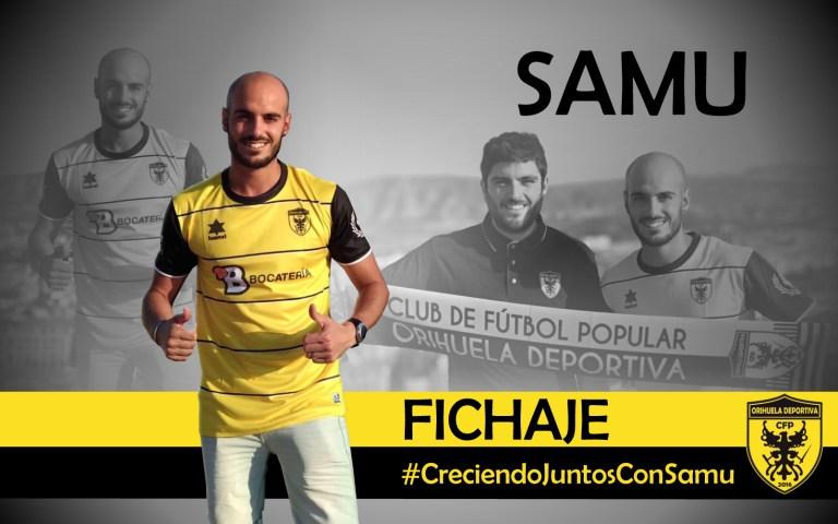 El oriolano Samu Guerrero ficha por el CFP Orihuela Deportiva 6