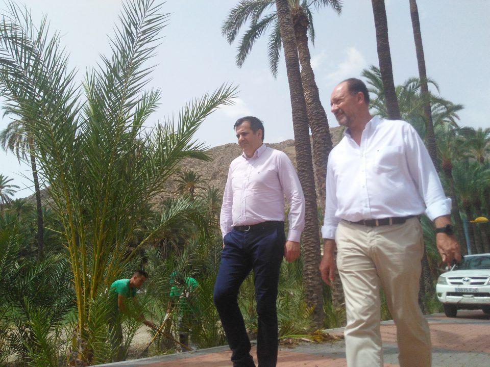 Orihuela invertirá cerca de 700.000 euros en el Palmeral 6