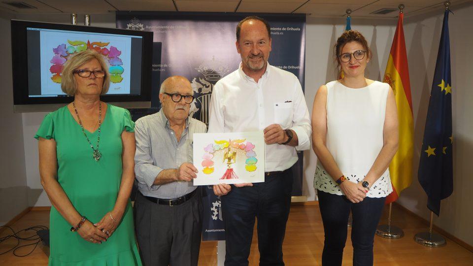 Ortuño pone color a la tarjeta de la invitación a la recepción de la Síndico 6