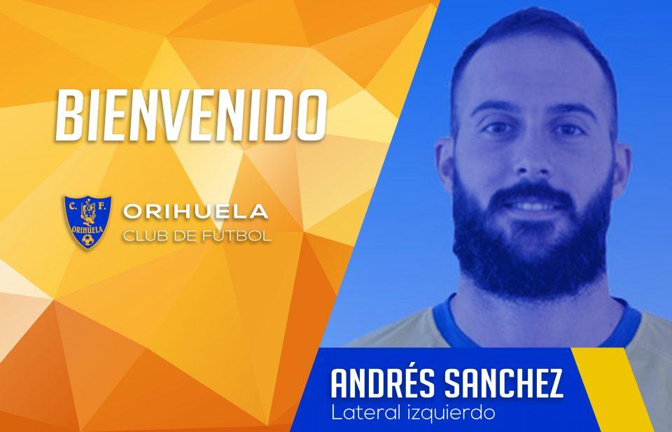El Orihuela apuntala el lateral izquierdo con Andrés Sánchez 6