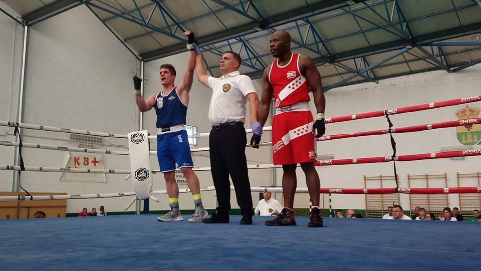 El callosino José Antonio Sánchez Traikovich, subcampeón de España de boxeo amateur 6