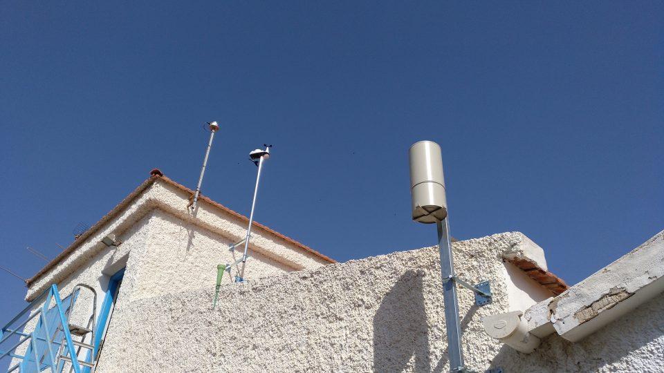Proyecto Mastral instala una estación meteorológica en el Parque Natural 6