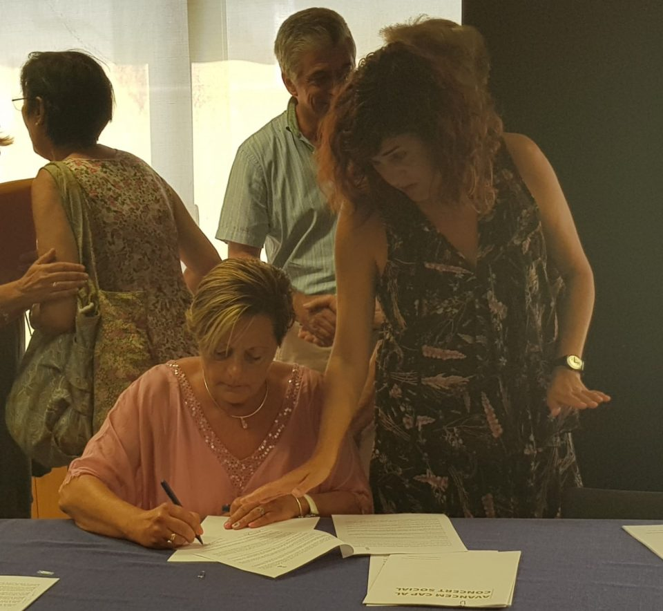 ADIS firma un concierto servicios de atención para personas con diversidad funcional 6