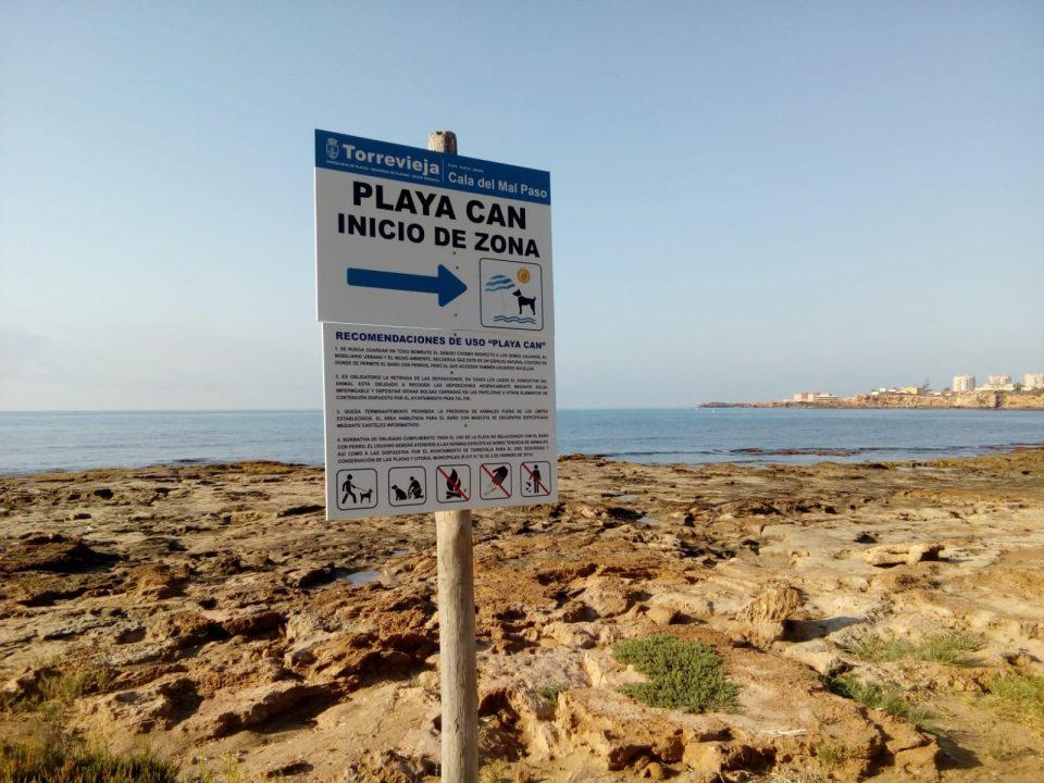 Torrevieja elimina las playas caninas y habilita solo la Cala del Rocío 6