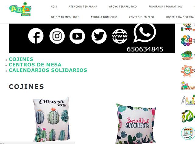 ADIS HOME, nueva tienda on-line solidaria para personas con diversidad funcional 6