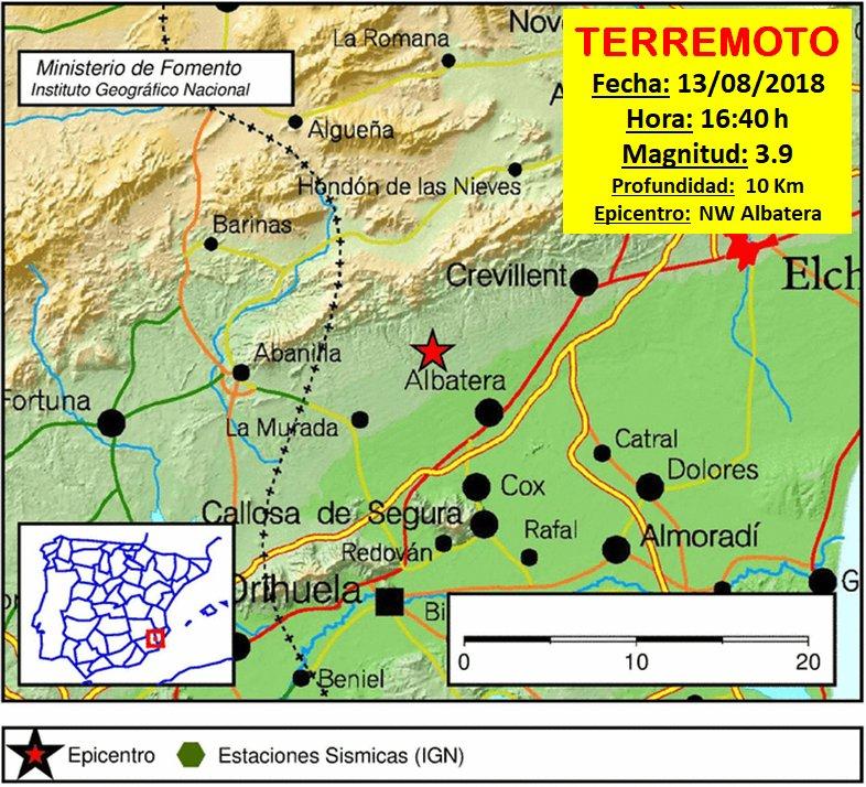 Albatera sufre el terremoto más fuerte de la comarca en 40 años 6