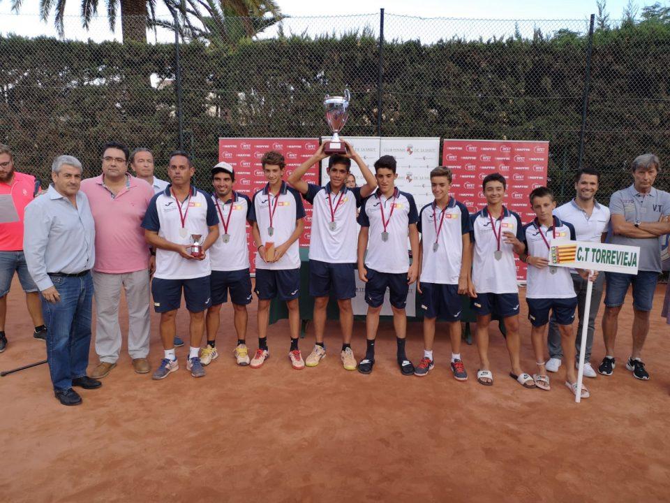 El C.T. Torrevieja obtiene la plata en el Campeonato Infantil de España 6