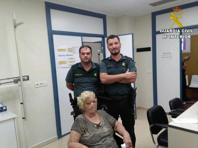 La Guardia Civil localiza en Bigastro a una mujer de 88 años desaparecida este lunes 6