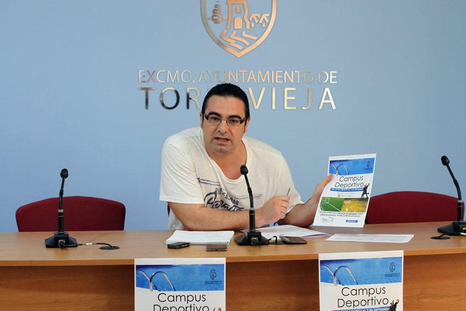 El Palacio de los Deportes de Torrevieja acogerá un Campus Deportivo de verano 6