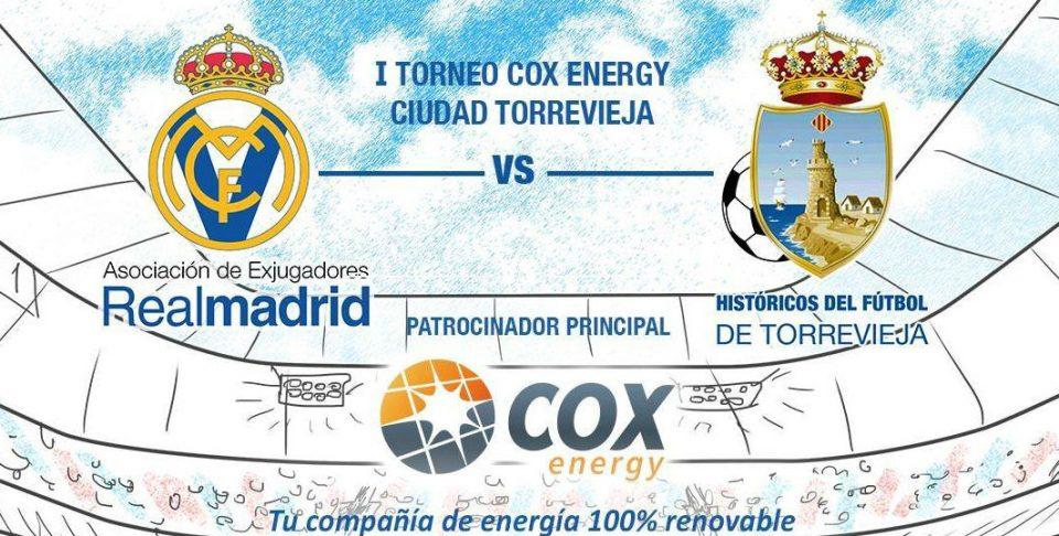 Los veteranos del Real Madrid jugarán en Torrevieja 6