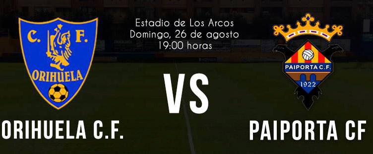 El Orihuela C.F. inaugura temporada enfrentándose al Paiporta 6