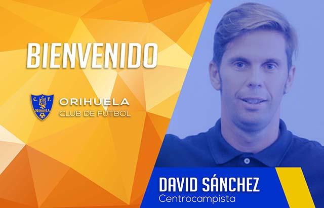 David Sánchez desembarca en el Orihuela CF 6