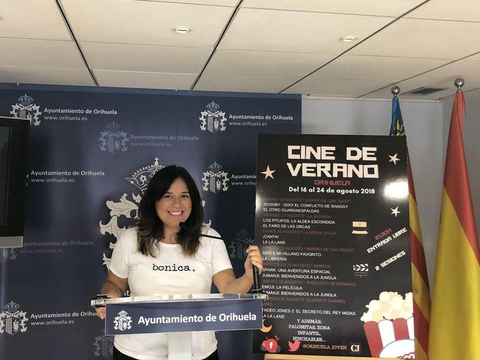 """El Cine de Verano vuelve a las """"nochecitas de Orihuela"""" 6"""